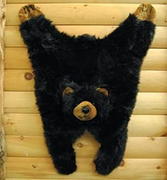 Soft And Cuddly Cute Black Bear Floor Throw Area Rug (Great Kids Rug)  42u0026quot