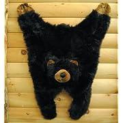 Soft And Cuddly Cute Black Bear Floor Throw Area Rug (Great Kids Rug) 42