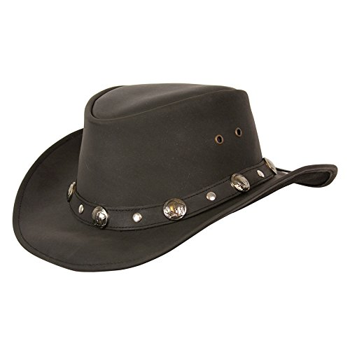 Buffalo Nickel Black Medium (Conner Leather)