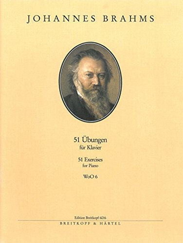 Brahms: 51 Exercises for Piano, WoO 6