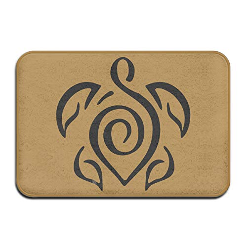 Tattoo Clipart Turtle Skid Resistance Welcome Carpet Kitchen Mat