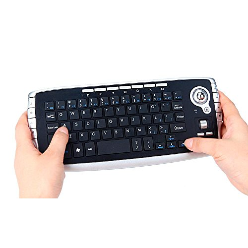 DZT1968 Mini 2.4Ghz Wireless Keyboard Touchpad With Mouse For PC PS4 Smart TV