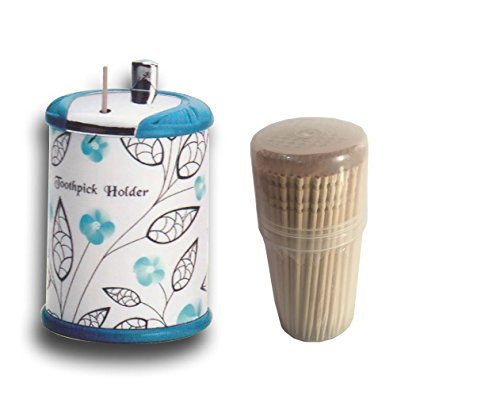 Plastic Toothpick Dispenser (Shradha Trading Toothpick Holder for Toothpicks,Best Toothpick Dispenser for Food, Cooking and Decoration. Suitable for Use or As Gift At Home, Office, Kitchen, Cafe and Restaurant)