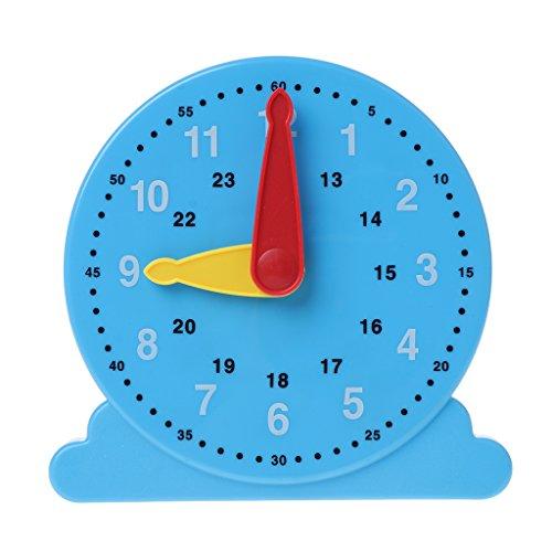 JAGENIE新しい科学的認知時計教育おもちゃ赤ちゃんおもちゃ赤ちゃんおもちゃ赤ちゃんおもちゃクリスマスお正月ギフト、1 pc、ランダム配送