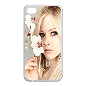 Custom Avril Back Case for iphone4,4S JN4S-165 by lolosakes
