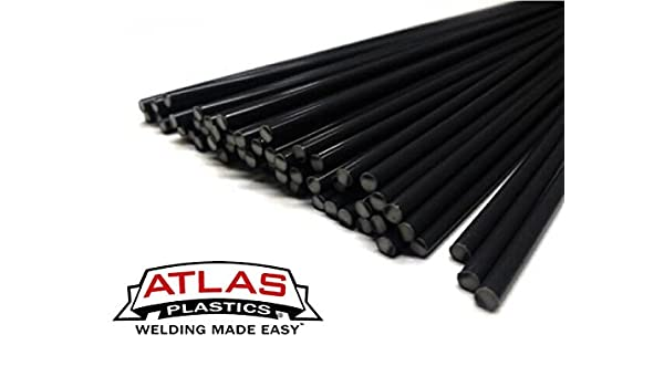 "Natural 3//16 /"" Polyethylene-High Density Plastic Welding Rod"