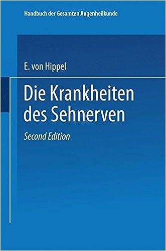 Handbuch Der Gesamten Augenheilkunde