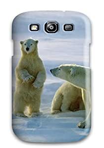 Hxy Perfect Tpu Case For Galaxy S3/ Anti-scratch Protector Case (polar Bear)