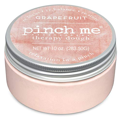 - Pinch Me Therapy Dough - Holistic Aromatherapy Stress Relieving Putty - 10 Ounce Grapefruit Scent