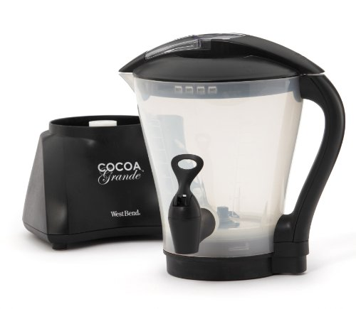 West Bend CL400BG Cocoa Grande Drink Maker with Container, Black