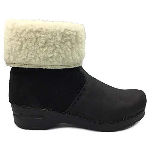 Sanita 'Courtney' Lined Winter Clog Boots (Art:457094) - 40