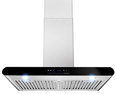 """AKDY New 30"""" European Style Wall Mount Stainless Steel Range Hood Vent Touch Control AZ-H508A-75"""