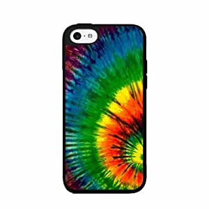 70s Tie Dye - Case Back Cover (iPhone 5/5s - 2-piece Dual Layer)