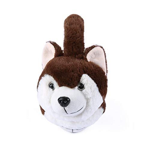 Elezay Unisex Foldable Ear Warmers Polar Winter EarMuffs Outdoor Cold Weather (COFFEE)