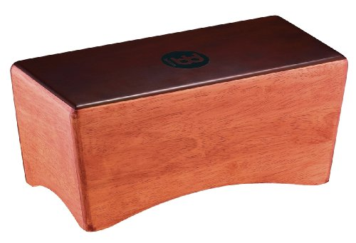 Meinl Percussion BCA1SNT-M Rubber Wood Bongo Cajon, Super Natural Finish (VIDEO) by Meinl Percussion