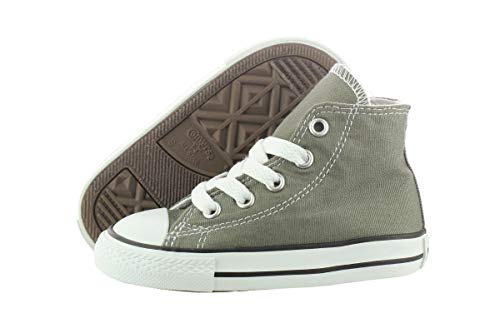 Converse Unisex Baby Chuck Taylor All Star Hi Top (Inf/Tod) Charcoal 4 Infant 015850-21-122
