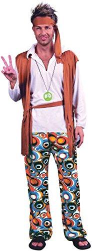 Peace & Love Plus Size Costumes (Plus Size Men's Hippy Man Costume)