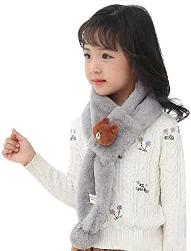 eff972cdcb4 Winter Scarf Cotton Hats Beanie Cap Scarf Great Stretch for Infant Kids  Toddlers