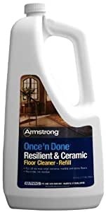 Armstrong Once'n Done Resilient and Ceramic Refill Ready to Use 64oz