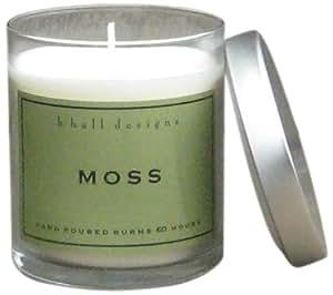 k hall designs Jar Candle, Moss