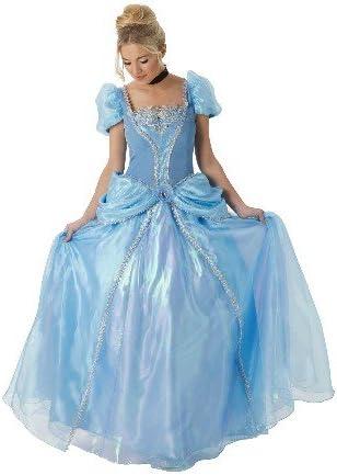 Princesas Disney - Disfraz de Cenicienta Super Premium para mujer ...