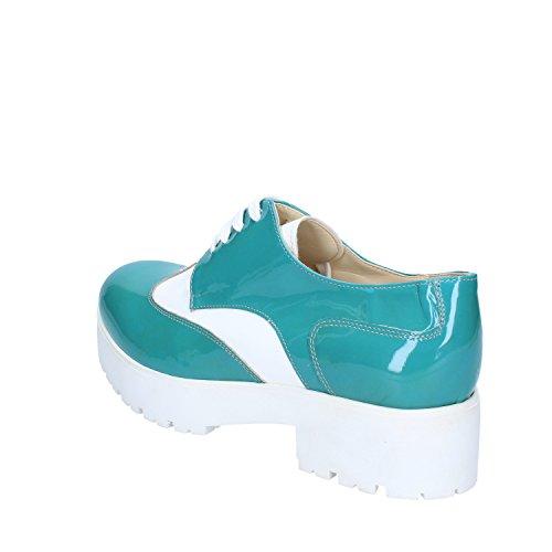 Azzurro Blanco EU Charol Azzurro Rojo Elegantes CRUZ Zapatos 40 6nIEwqn0x
