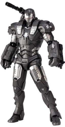 Iron Man Revoltech SciFi Super Poseable Action Figure #031 War Machine (War Machine Figure)