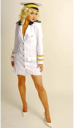 1940s Pin Up Candyman Sailor Costume (struts-7058) - Women: 16-18 ...
