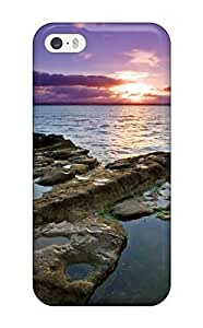 CaseyKBrown Scratch-free Phone Case For Iphone 5/5s- Retail Packaging - Auckland Sunset
