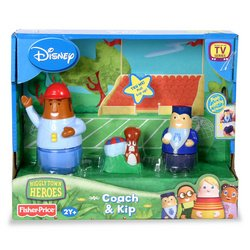 amazon com higglytown heroes coach and kip toys games