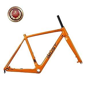 IMUST Full Carbon Cyclocross Bike Frameset CX PRO BB86 & Di2 Disc Brake