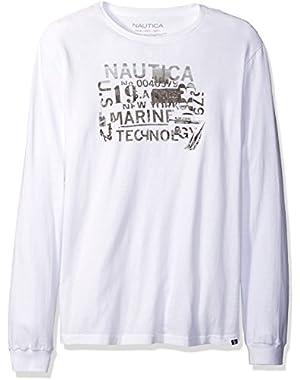 Men's Marine Technology Graphic Long Sleeve T-Shirt