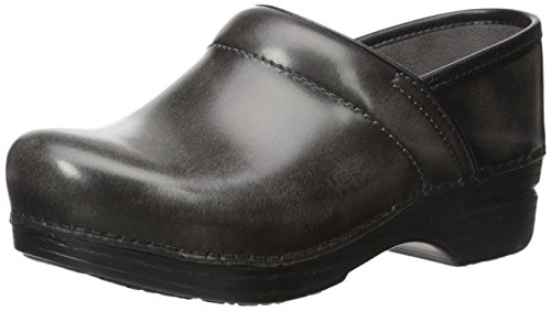 Dansko Women's Pro XP Mule, Grey Cabrio, 41 EU/10.5-11 M US