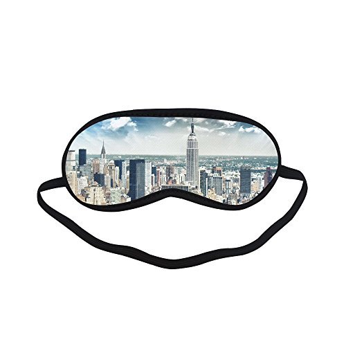 - Unique Debora Custom Sleeping Mask Eye Shades for Sleeping for New York City Skyline And Skyscrapers