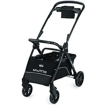 Amazon Com Chicco Shuttle Frame Stroller Black Baby