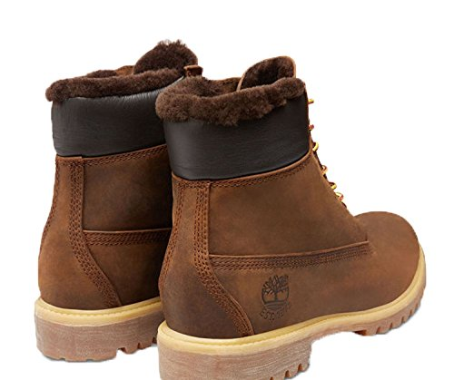 Timberland 6 Inch Heritage Shearling Lined Boots 9664B dark brown - 47,5