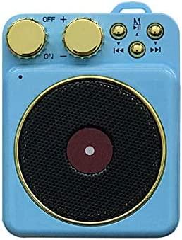 FASBHI Mini Radio, Tocadiscos Retro TWS Phonograph 5.0 Radio ...