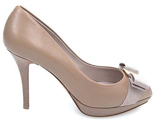 Ferragamo Open Salvatore Biscuit Biscotto Toe Shoes 0494974 Woman Gilia Code Decolte fRRqAwrd