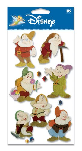Disney 7 Dwarves Dimensional Sticker]()
