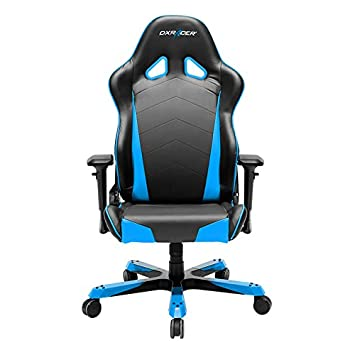 DXRacer Tank Series DOH TC29 NB Big and Tall Chair Racing Bucket Seat Office Chair Gaming Chair Ergonomic Computer Chair eSports Desk Chair Executive Chair Furniture With Pillows Black Blue