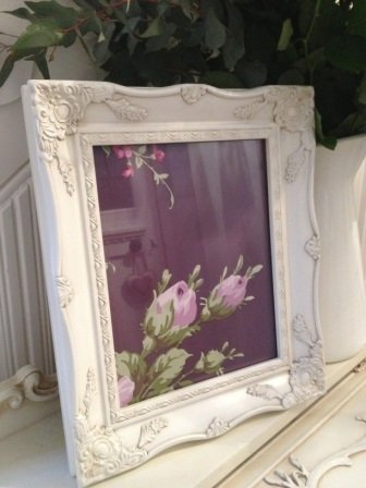 Shabby Chic Ivory Ornate Picture Frame 8x10 Amazoncouk Kitchen