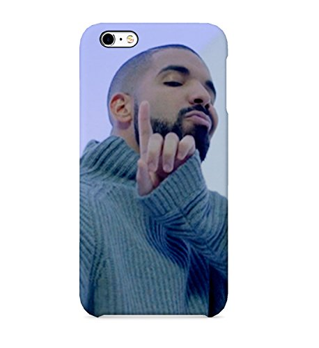 Bling Plastic Hard Case (Drake Hotline Bling Phone Case Hard Plastic 3D Full-Print Protective Phone Case For Iphone Samsung Galaxy Huawei Mobile Cellphone)