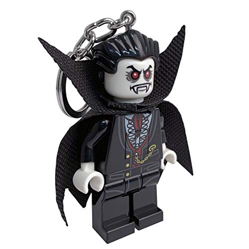 LEGO Monster Fighters Lord Vampyre Key Light - Minifigure Key Chain with LED Flashlight -
