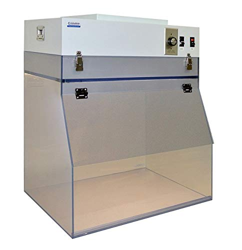 24 Inch Portable Laminar Flow Hood, ESD Safe Clean Bench by Cleatech