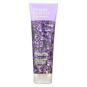 Desert Essence, Lotion Hand Body Bulgarian Lavender Organic, 8 Fl Oz