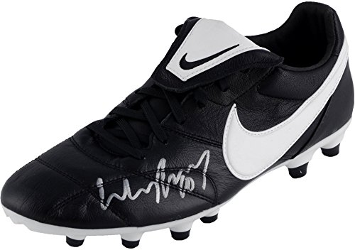 ab9a5e6441b Wayne Rooney Manchester United Autographed Black and White Cleat - Fanatics  Authentic Certified - Autographed Soccer Cleats