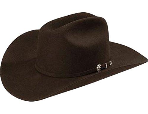 Stetson Mens 4X Corral Wool Felt Cowboy Hat - Cral-75402274 Choc