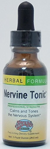 Nervine Tonic Herbs Etc 1 oz Liquid -