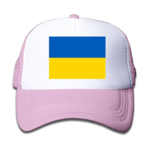 hot sell Futong Huaxia Flag Of Ukraine Boy & Girl Grid Baseball Caps Adjustable sunshade Hat For Children save more