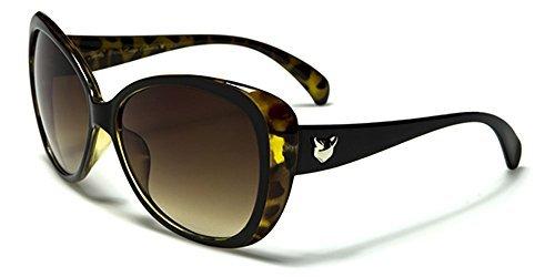UV400 INCLUIDO MARRÓN NUEVO Para Conducción beachhutsunglasses Gafas De Grande LENTE Mujer Protección GISELLE de Bolsa GRATIS Gato moda Apto Ojos COMPLETO sol marrón oscuro grg4H6Pwq